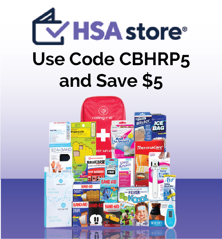 HSAstore.com - Use Code CBHRP5 and Save $5